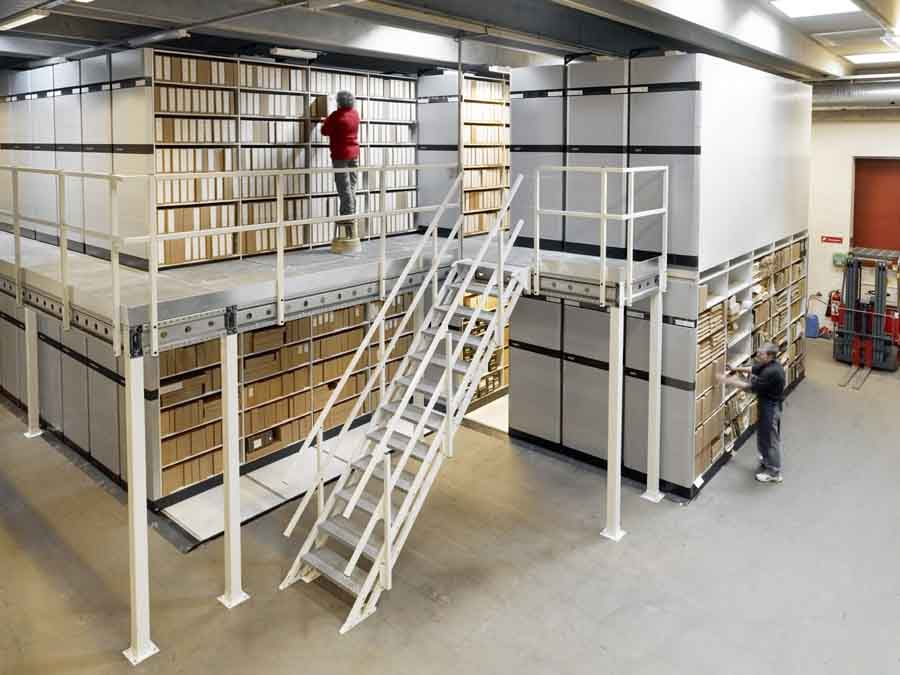 Double Deck Mobile Filing