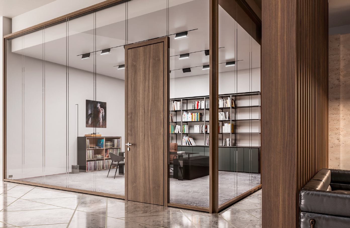WOODEN HIGH PARTITION